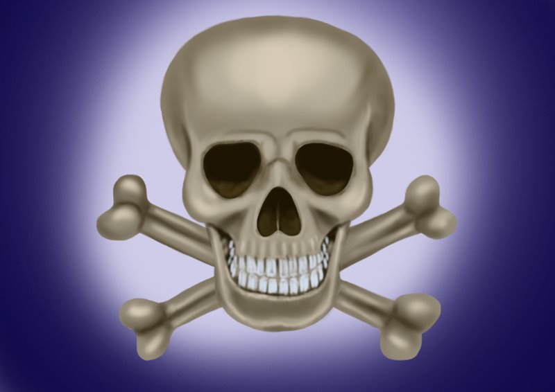 800x566 Learn How To Draw Skull Easy (Skulls) Step By Step Drawing Tutorials