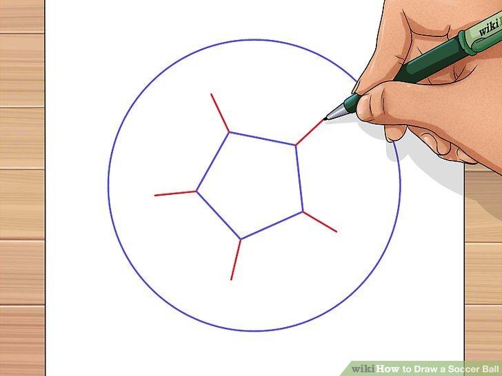 728x546 3 Ways To Draw A Soccer Ball