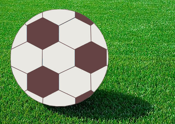 704x502 How To Draw A Soccer Ball