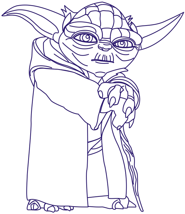 650x750 How To Draw Yoda From Star Wars With Step By Step Drawing Tutorial