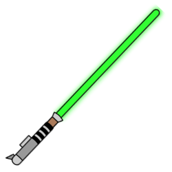 250x250 How To Draw A Lightsaber