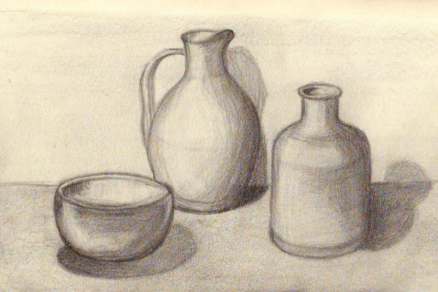 Easy Still Life Drawing at GetDrawings | Free download