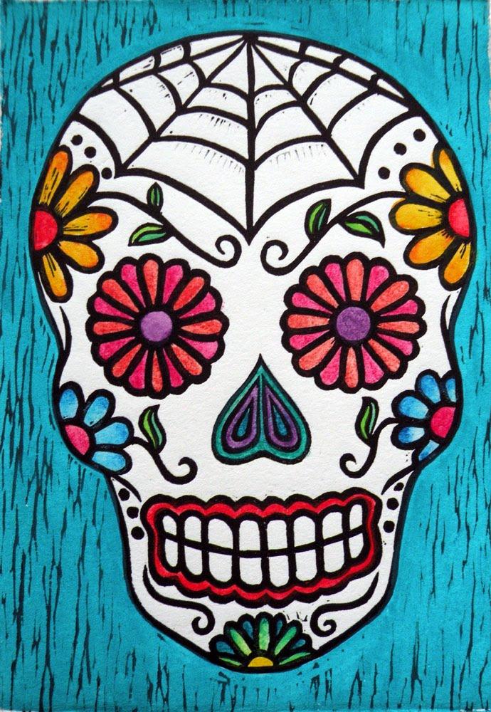 690x1000 Decorative Sugar Skull Stencil Sugar Skull Stencil, Skull