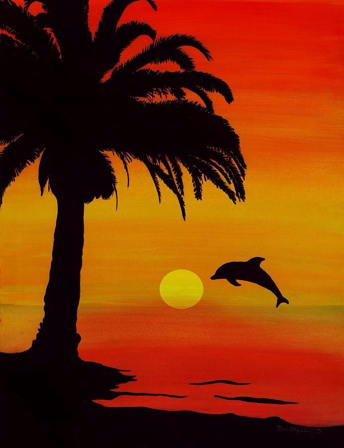 92 Easy Sunset Paintings For Kids How To Paint A Beautiful