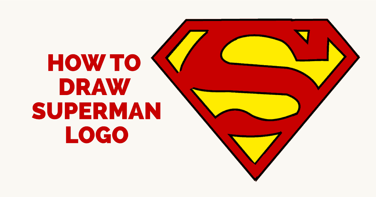 Easy Superman Drawing At Getdrawings Free For Personal Use