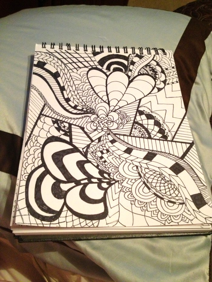 Easy Trippy Drawing At Getdrawings