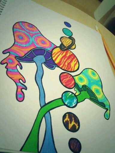 Easy Trippy Drawing at GetDrawings.com   Free for personal ...