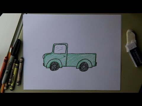 480x360 How To Draw A Truck! Easy Drawing Lesson For Kids! Art Tutorial