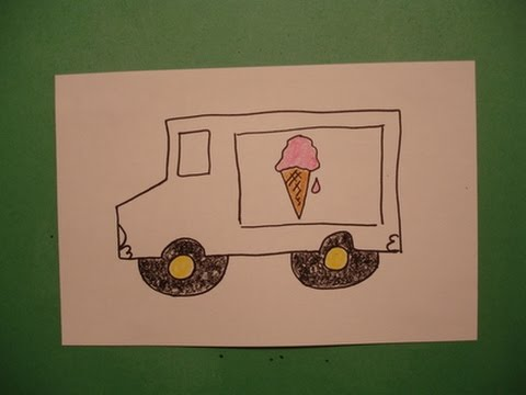 480x360 Let's Draw An Ice Cream Truck!