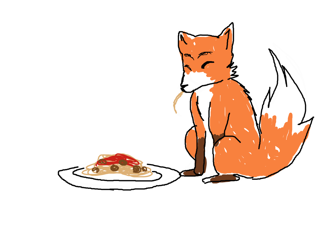 1350x1020 Forum Draw Your Favourite Animal Eating Your Favourite Food