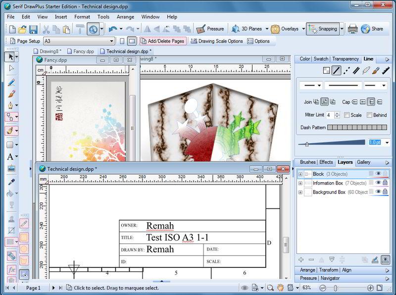 800x596 Drawplus Starter Edition Gizmo's Freeware