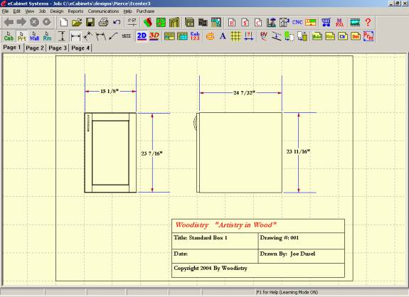 575x418 Ecabinet Systems Software Line Drawing Editor