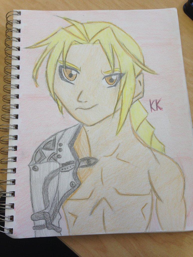 774x1032 Edward Elric Drawing! By Xkiaraxthexkillerx