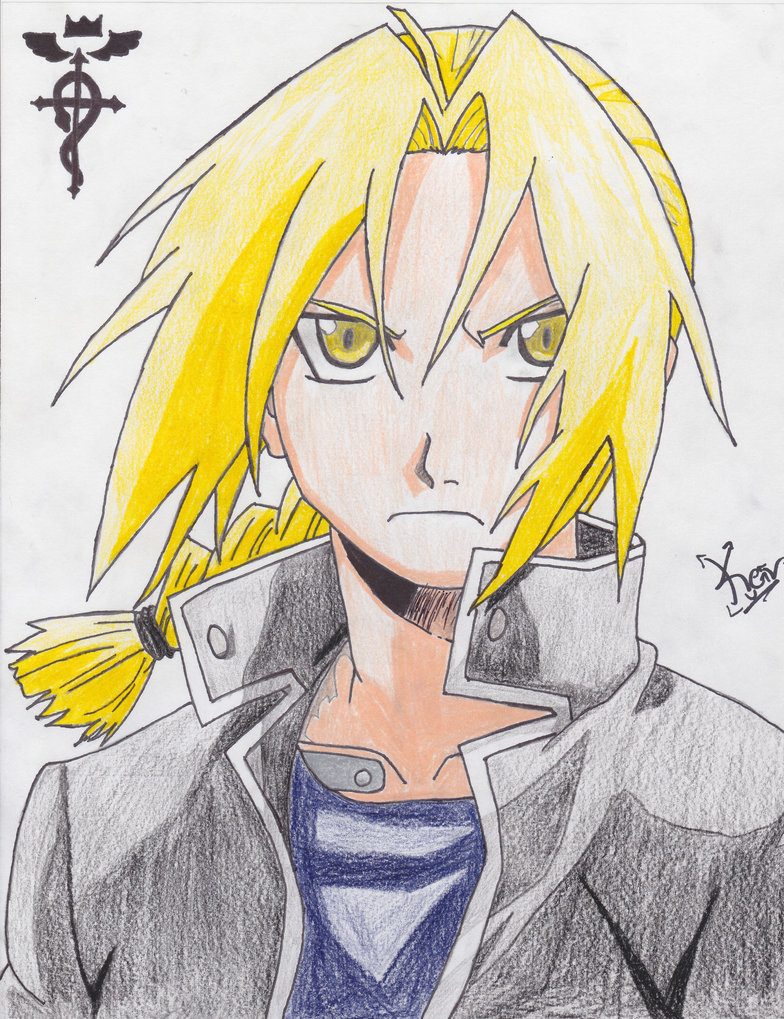 784x1019 Edward Elric By Kevinsdrawings
