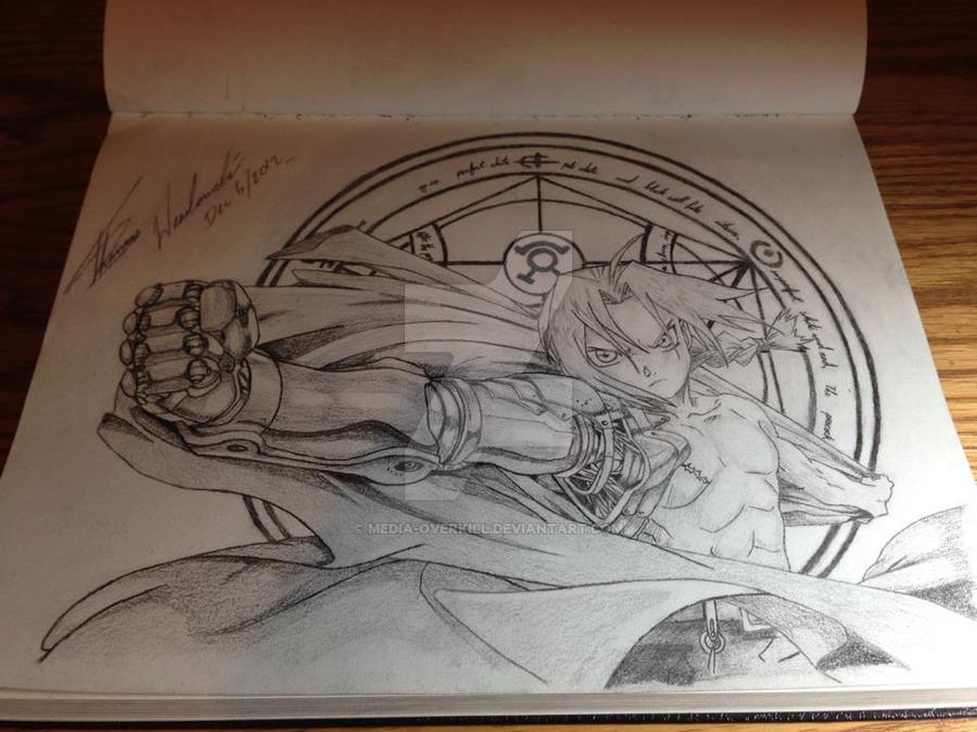 900x675 Edward Elric Of Fullmetal Alchemist By Media Overkill