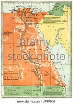 236x335 Download This Stock Image 1811, Cary Map Of Arabia, Egypt