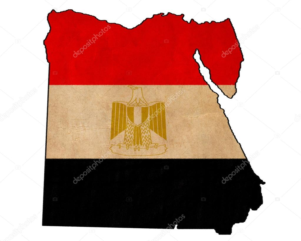 1023x821 Egypt Map On Egypt Flag Drawing ,grunge And Retro Flag Series