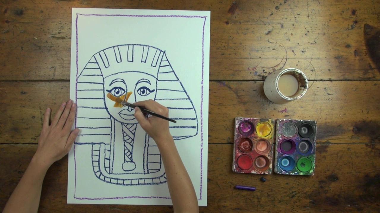 1280x720 Free! Egyptian Mummy Art Lesson From Artventure On Vimeo