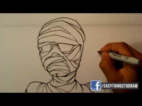 480x360 How To Draw A Mummy