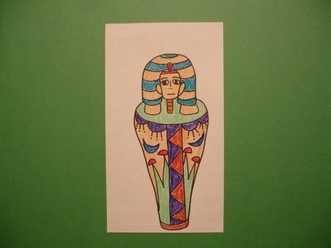 480x360 Let's Draw A Mummy Case!