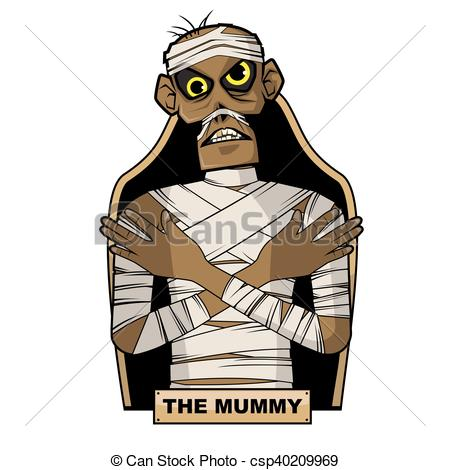 450x470 Picture Of An Ancient Egyptian Mummy Clip Art Vector