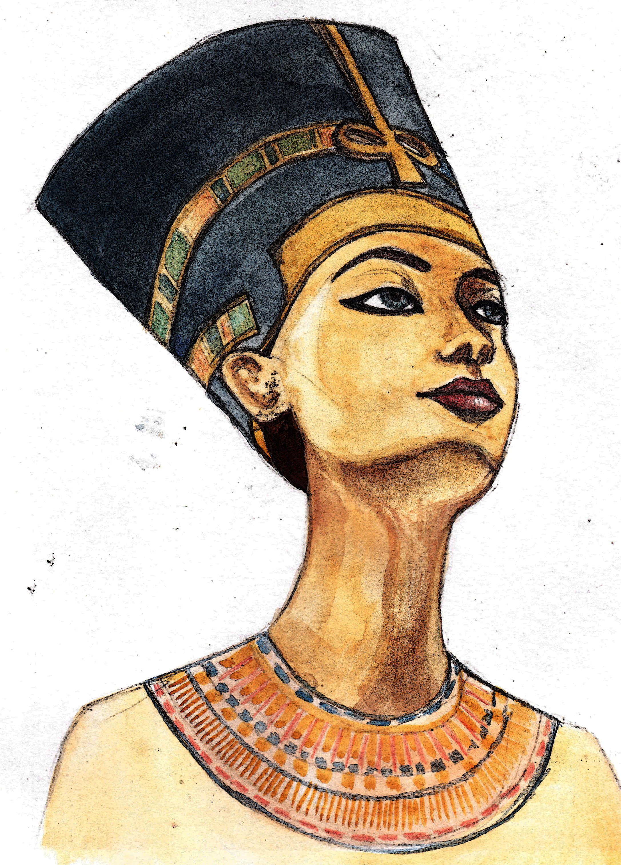 2172x3024 Egyptian Queen History Witch