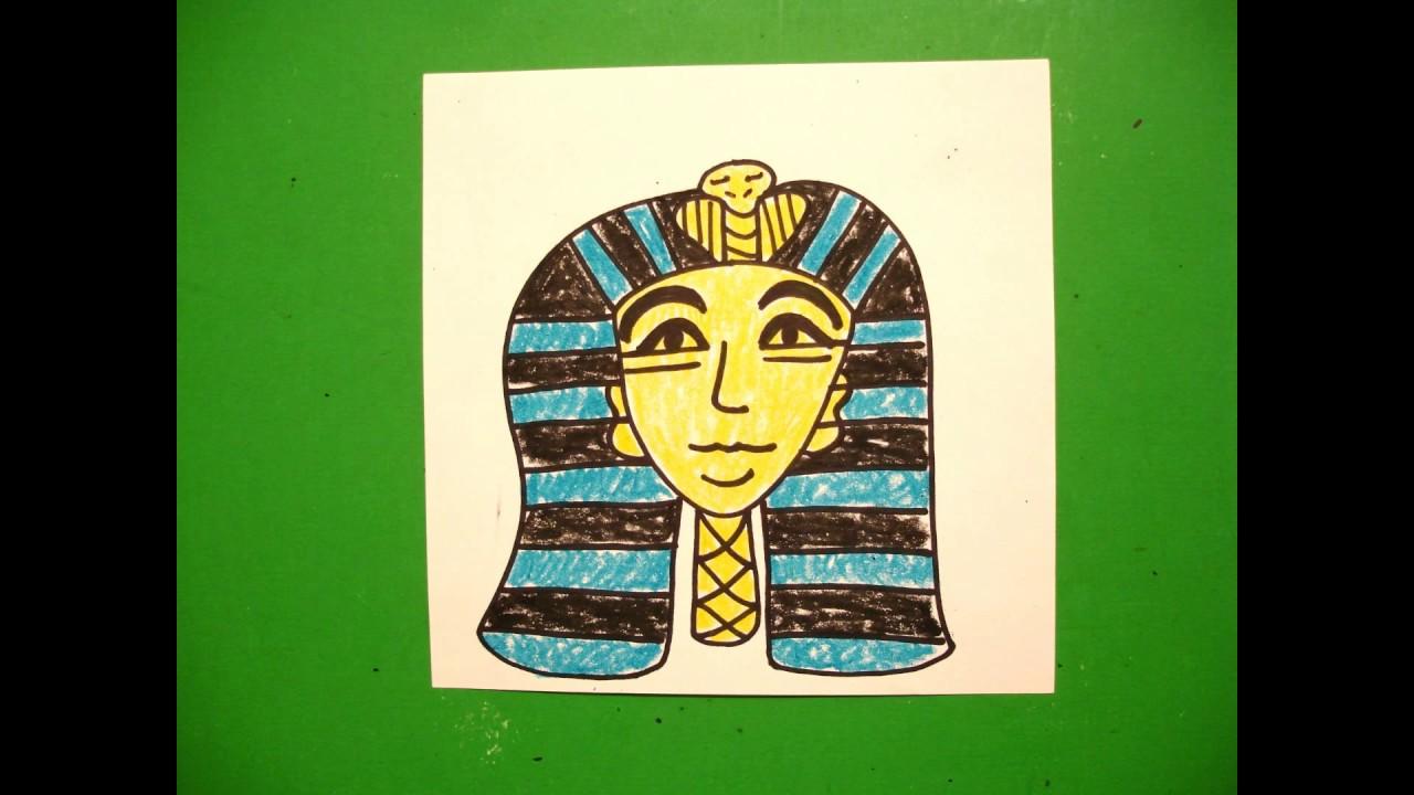 1280x720 Let's Draw An Egyptian Pharaoh!