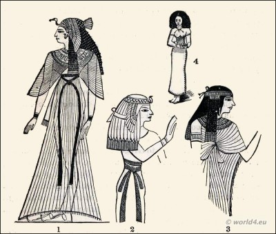 400x340 Ancient Egyptian Costumes