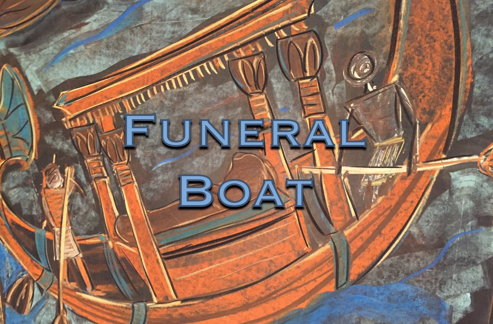 1632x1074 Funeral Boat Ancient Egypt Chalk Drawing