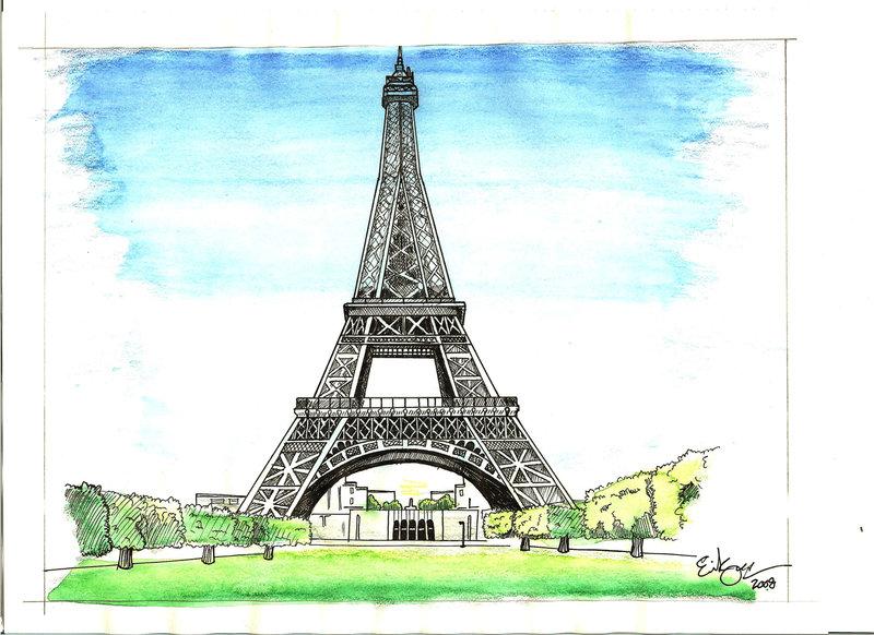 800x582 Eiffel Tower By Slick Rick3715