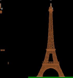 282x300 La Tour Eiffel (Eiffel Tower) Clip Art