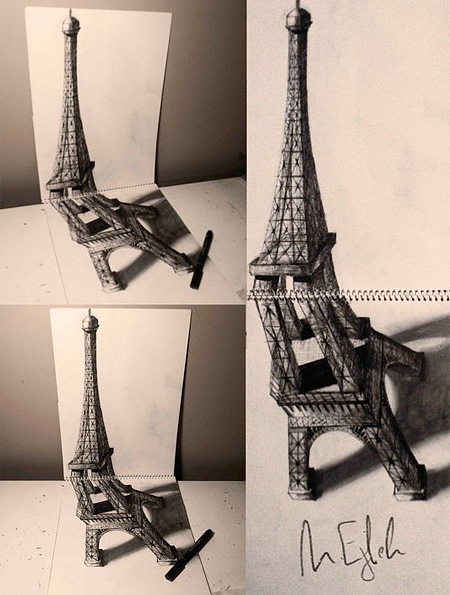 450x595 3d Drawings By Muhammad Ejleh Sketches 3d Drawings