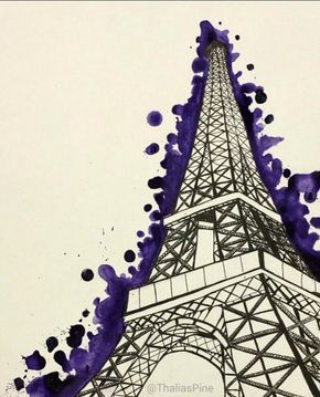290x359 70 Easy And Beautiful Eiffel Tower Drawing And Sketches Eiffel