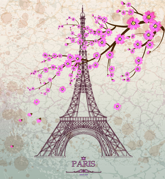 339x368 Eiffel Tower Drawing Free Vector Download (89,873 Free Vector)