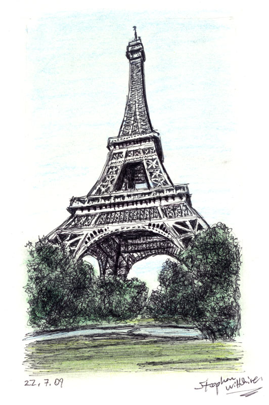 532x800 The Eiffel Tower, Paris
