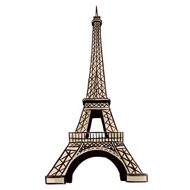 275x275 Want To Learn How To Draw An Eiffel Tower Tower And Sketches