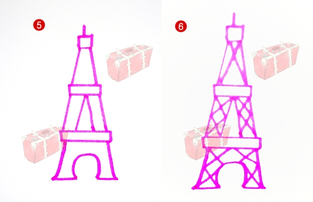 Eiffel tower drawing easy at getdrawings free for personal use 640x413 draw the eiffel tower easily p a s s i o n thecheapjerseys Gallery