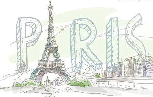 Eiffel tower drawing pictures at getdrawings free for personal 500x316 city cute drawing eiffel tower thecheapjerseys Image collections