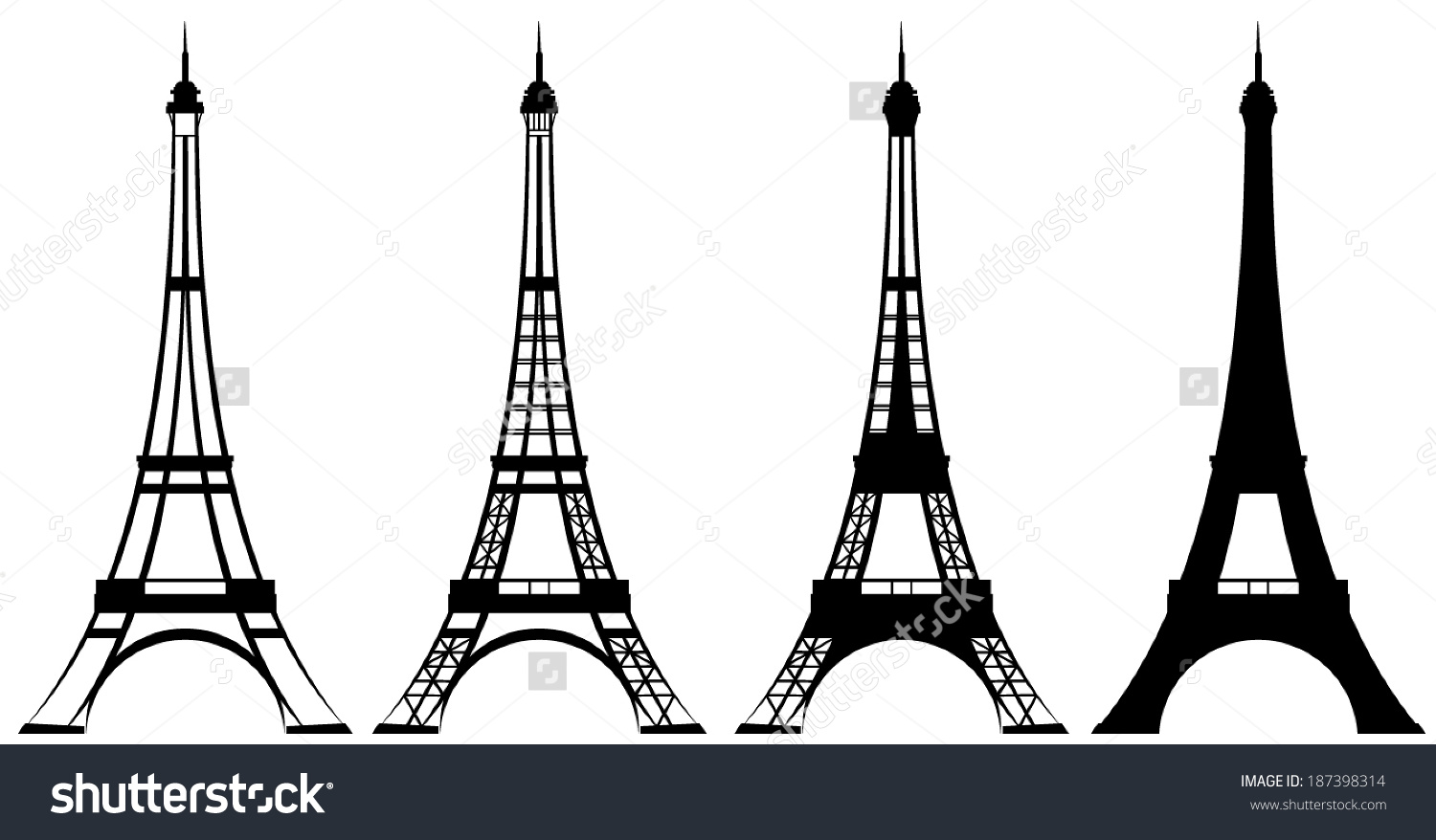 Eiffel Tower Drawing Simple at GetDrawings | Free download
