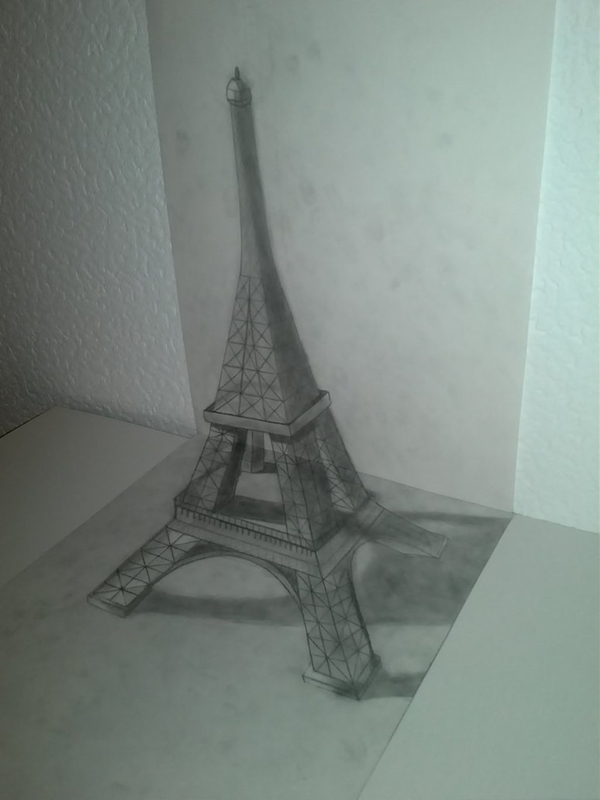 600x800 40 Most Beautiful And Detailed Eiffel Tower Drawings