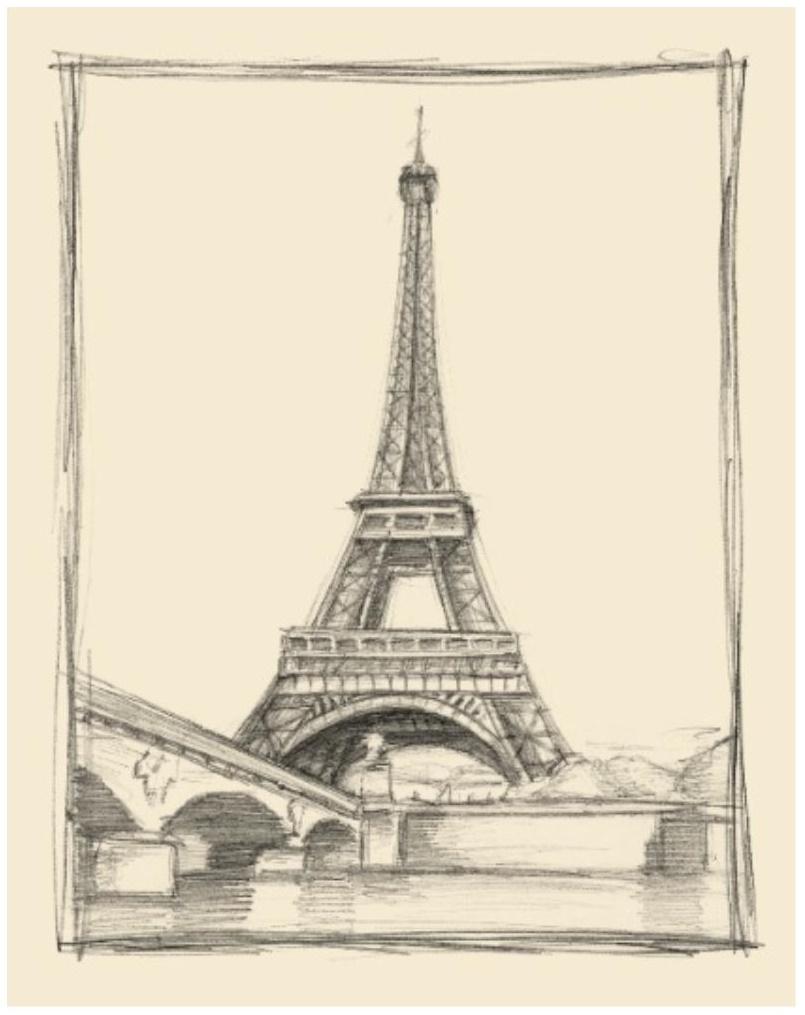 805x1015 Eiffel Tower Artwork Style File Endless Ideas