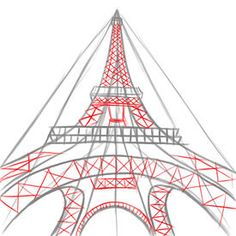Eiffel Tower Easy Drawing At Getdrawings Com Free For Personal Use