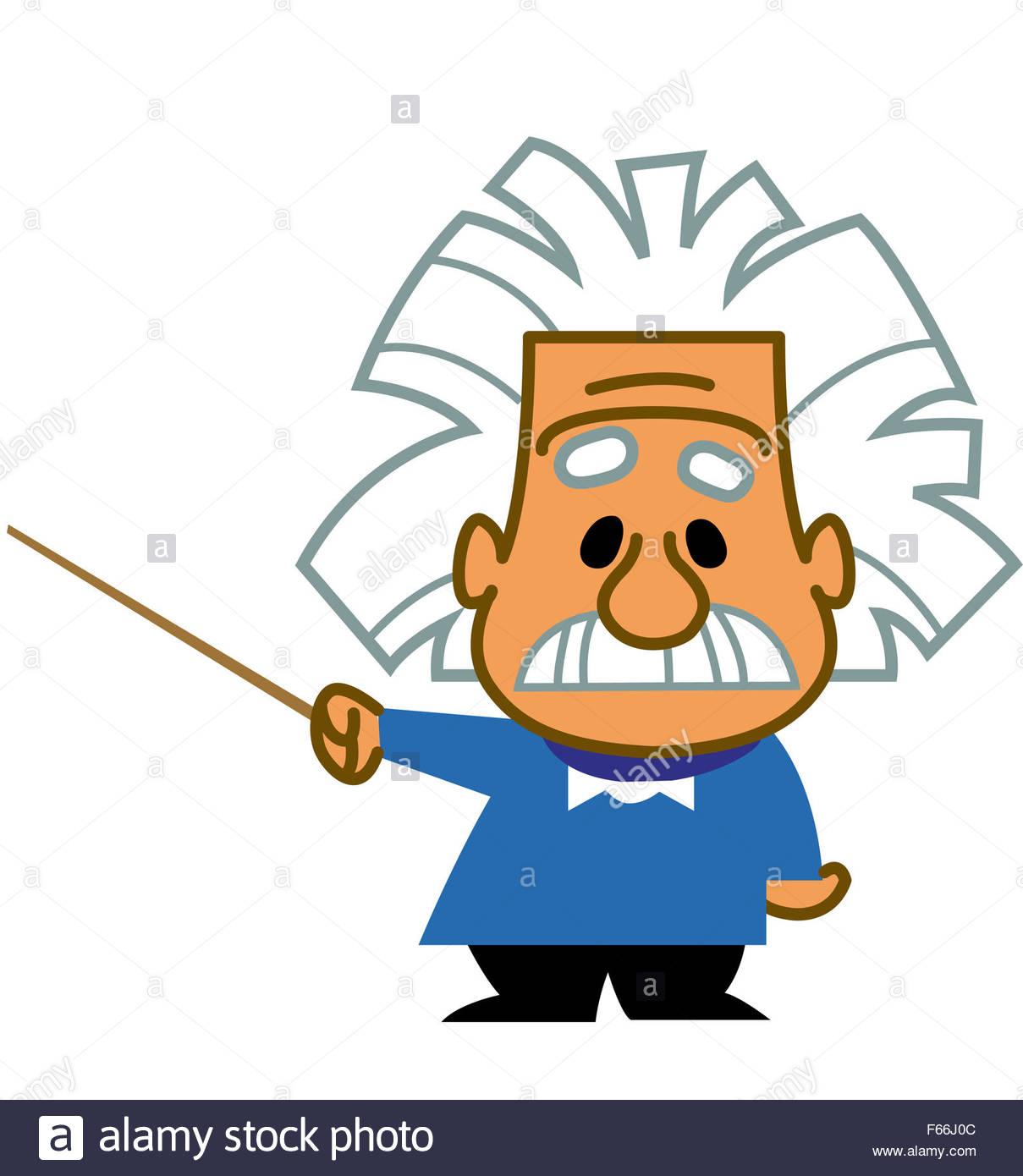 1209x1390 Albert Einstein Cartoon Scientist Genius Professor Teacher Holding