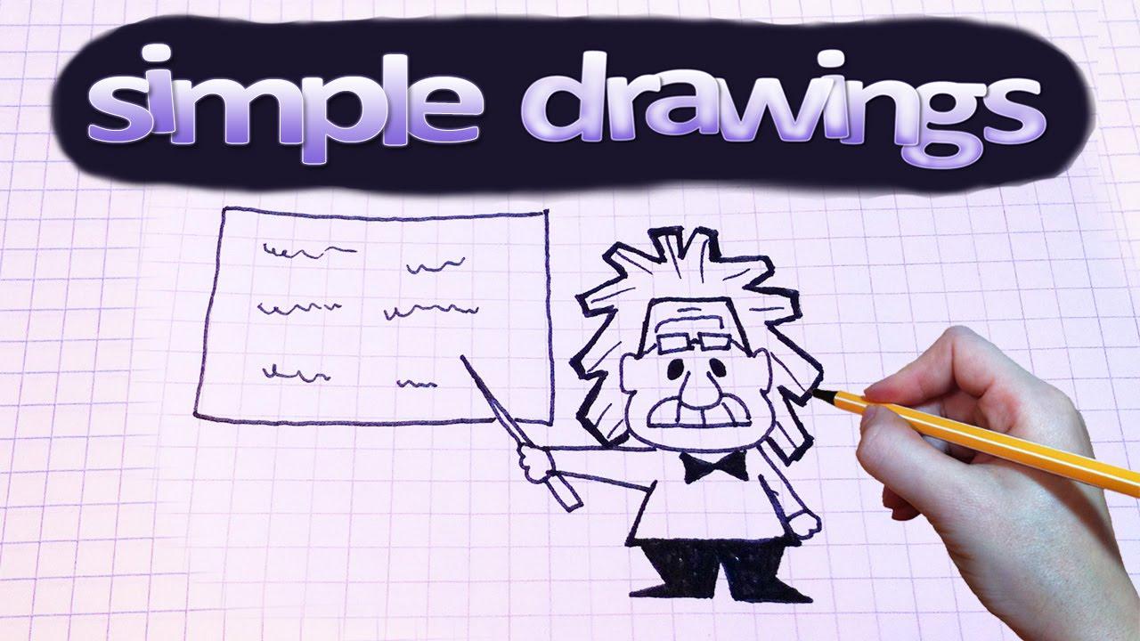 1280x720 Simple Drawings