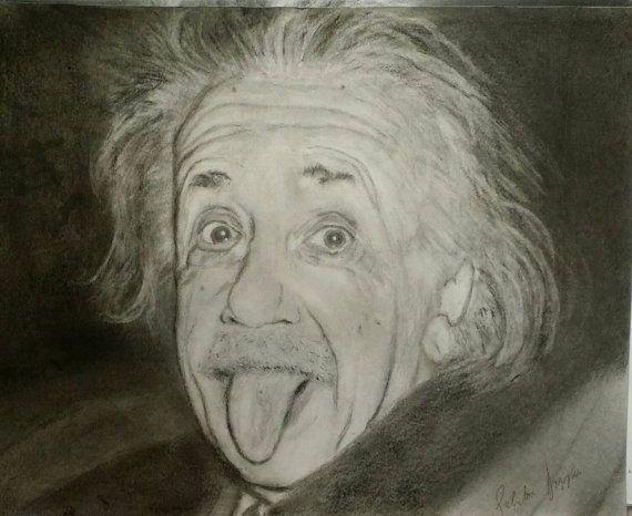 570x466 Albert Einstein Drawing Portrait