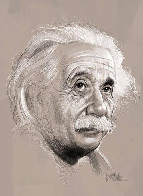 500x683 Einstein Pencil Drawings By Marco Calcinaro Albert Einstein My