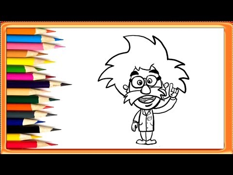 480x360 How To Draw Albert Einstein Easy Drawings For Kids Yzarts
