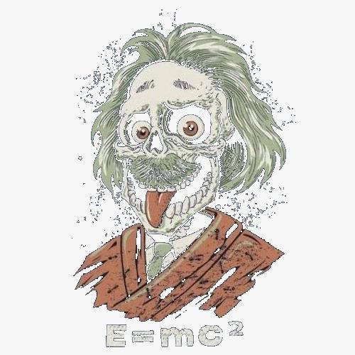 500x500 The Cartoon Spit Tongue Einstein, Einstein Logo Expression