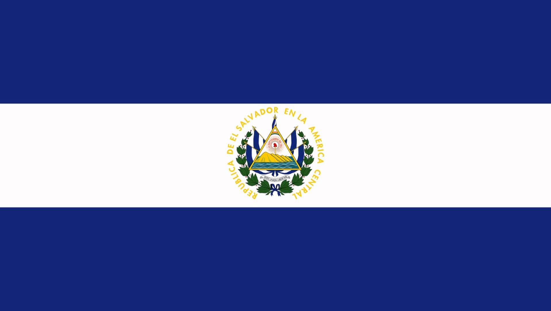 1916x1080 El Salvador Flag