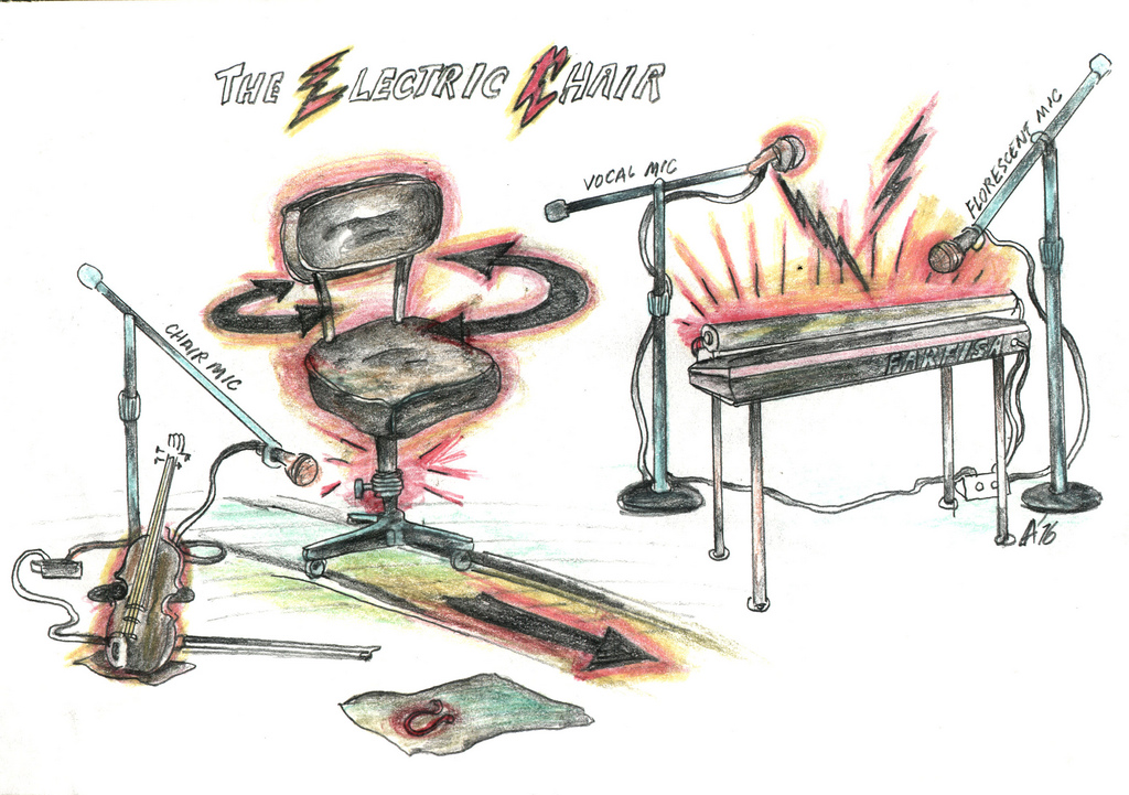 1024x721 56 Electric Chair Drawing See